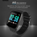 NOTE-Black Smart Watch New With Heart Rate Monitor Fitness Tracker Blood Pressure Waterproof Smartwatch