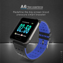 NOTE-Blue Smart Watch New With Heart Rate Monitor Fitness Tracker Blood Pressure Waterproof Smartwatch